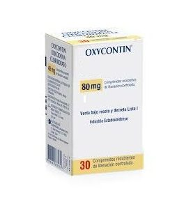 Oxycontin 80mg